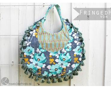Fringed Hobo Bag von Amy Butler