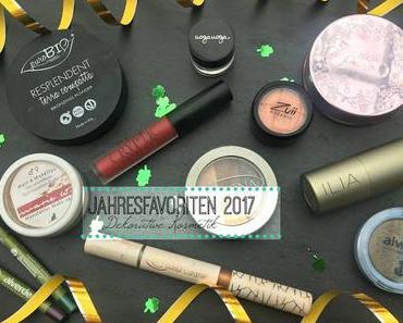 Jahresfavoriten 2017 - Dekorative (Natur)Kosmetik