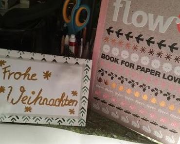 [DIY] Basteln mit dem FLOW book for paper lovers #2