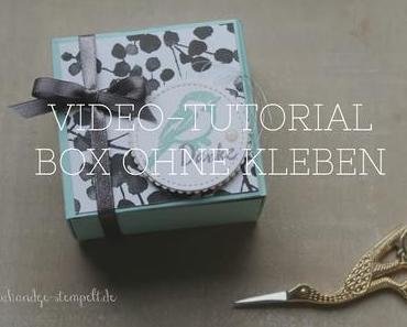 Video-Tutorial - Box ohne kleben