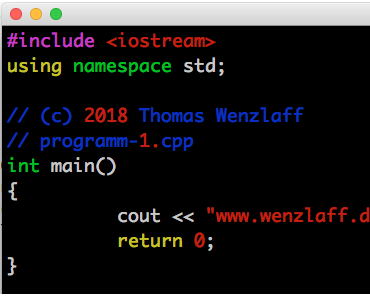 In 15 Minuten zum eigenen C++ Programm auf dem Raspberry Pi Zero W – Teil 1