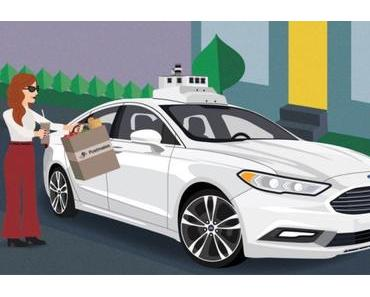 City of Tomorrow: So stellt sich Ford den Einsatz von autonomen Fahrzeugen vor