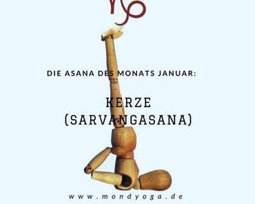 Mit die wichtigste Asana im Yoga: Die Kerze (Die Asana des Monats)