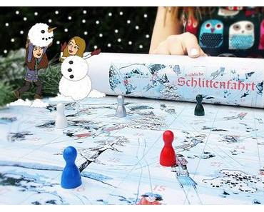 """Winterlicher Spielespaß mit """"Fröhliche Schlittenfahrt"""" von Spieltz (Werbung)"""