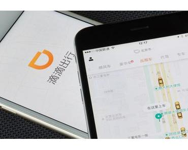 Mobilität in China: Didi mit mehr als 7 Milliarden Trips im letzten Jahr