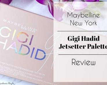 Maybelline New York Gigi Hadid Jetsetter Palette – Review