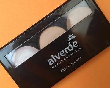 [Werbung] alverde Professional Contouring Kit 01 Light + Trend it Up Dazzling Dust Nail Polish 010