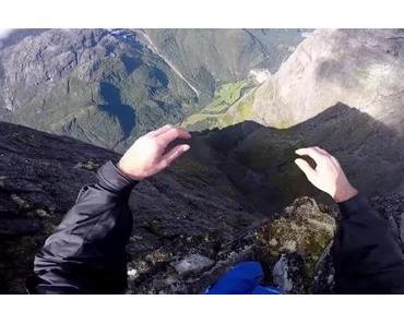 POV: BASE jumping mit Josh Nicholls