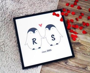 Ob Valentinstag, Jahrestag oder einfach so: personalisierte Geschenke von RADBAG!