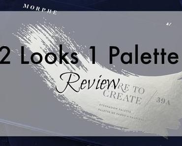 |2 Looks 1 Palette| Morphe Dare To Create 39a - Review