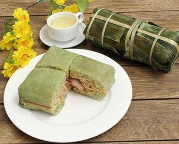 Rezept: Vietnamesische Neujahrs-Kuchen Banh Chung