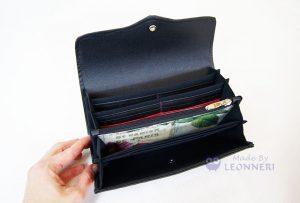 Neue Portemonnaies entstehen in diesen Wochen bei LEONNERI