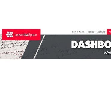 Geniale Werbeplattform: #LeasedAdSpace