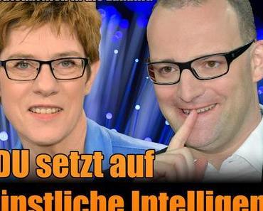 Jens Spahn, karrieregeiler Pharmalobbyist & Annegret Kramp-Karrenbauer, gottesanbetende Katholibanin