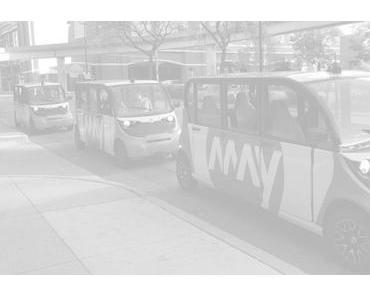 Mit BMW und Toyota Beteiligung: May Mobility sammelt 11.5 Mio. US$ für autonomes Shuttle ein