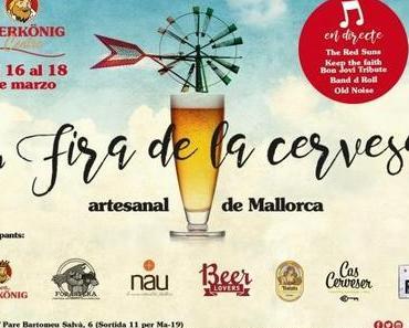 """""""1a Fira de la cerveza artesanal de Mallorca"""" im Bierkönig"""