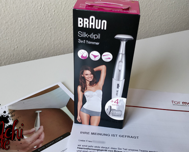 #0790 [Review] Braun Silk-épil 3-in-1 Trimmer