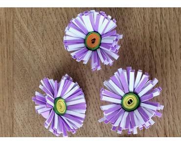 Gänseblümchen aus Papier