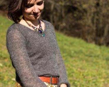 Einfachen Pullover mit der Strickmaschine stricken