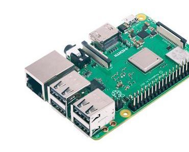Neuer Raspberry Pi 3B+ zum heutigen Pi-Tag