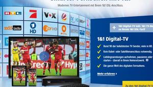 neue Digitalfernsehen 1&1