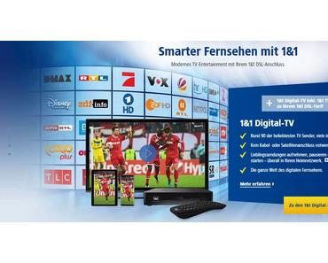 Das neue Digitalfernsehen von 1&1