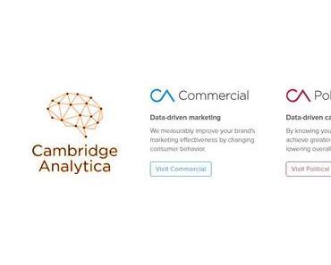 Cambridge Analytica – die ganze Geschichte