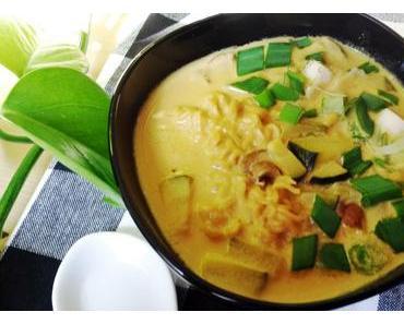 Kokossuppe mit Mie Nudeln – thai-inspired
