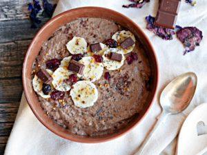 Daily Breakfast – gekeimter Schoko-Buchweizenbrei