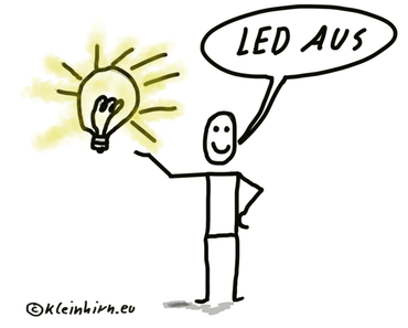 Raspberry Pi Zero (W): Wie kann die grüne aktivitäts LED (ACT) (dauerhaft) ausgeschaltet werden?