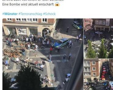 Kleinlaster-Attacke in Münster