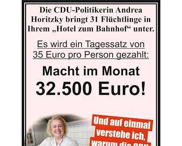 Kölner CDU-Vorstand kassiert Wuchermieten von der Stadt für die Unterbringung von Asylanten