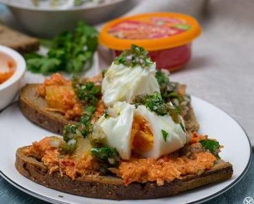 Pulled Chicken Sandwich in Kooperation mit Gutfried