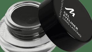 Manhattan Eyeliner Long-Lasting Black