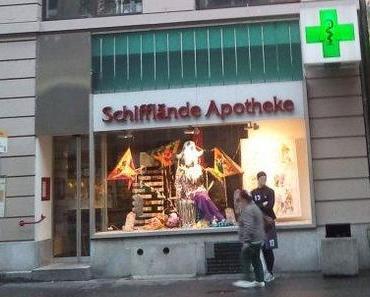 Apotheken in aller Welt, 106: Basel, Schweiz