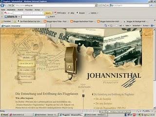 Informationen über den Flugplatz Johannisthal