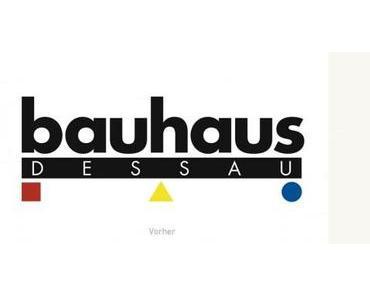 Bauhaus Dessau mit neuer CI