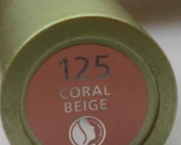 "Swatch: Alverde Lippenstift ""125 Coral Beige"" [Mineral Fantasies LE]"