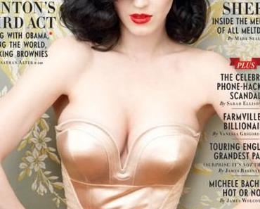 Katy Perry auf dem Vanity Fair Cover