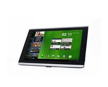 Acer Iconia Tab A500 mit Android Honeycomb gestartet.