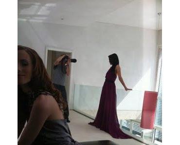 Backstage Pics vom Shooting der Irene Luft GNTM-Collection FUN FUN FUN