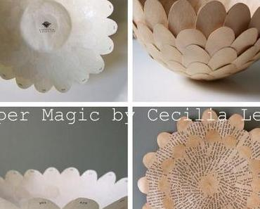 I´m quick get away...to the magical paper objects by Cecilia Levy