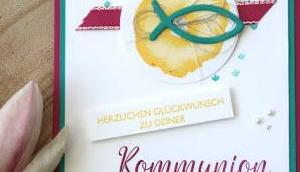 Glückwünsche Kommunion neuen Farbe Ananas