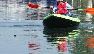 Elsass: Kanu Kanal
