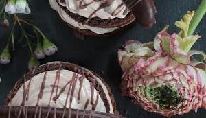 Glutenfreie Brownie Küchlein Nougatcreme......mit Liebe Tisch gedeckt