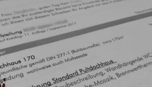 #0805 [Session-Life] Bautagebuch Unterlagen