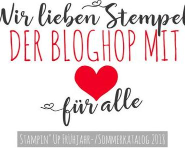 """Ich bin dabei beim """"Blog Hop mit Herz für alle"""""""