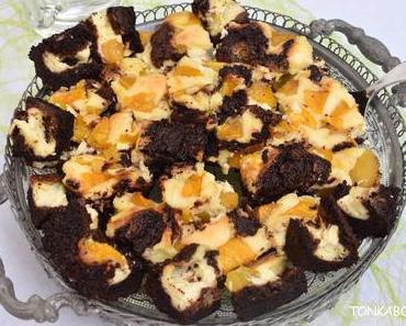 Mango Frischkäse Brownies