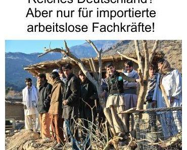 """Reiches Deutschland, 3,7 Millionen verdienen weniger als 2.000 Euro Brutto, 6,22 Millionen im Hartz-4 System und arbeitslose """"Fachkräfte"""" werden immer weiter importiert"""