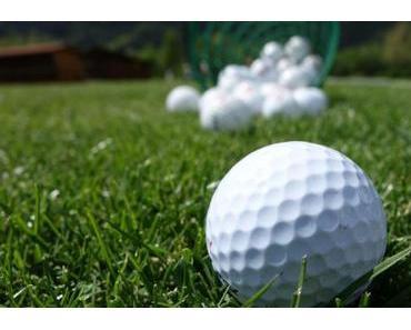Golftraining und dann noch umsetzen